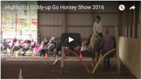 2016 Horse Show Highlights video