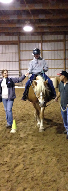 Therapeutic Riding Lessons at Pretty Pony Pastures